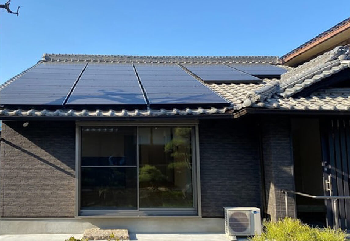 太陽光発電システム(7.42kW)
